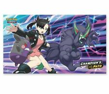 More details for pokemon champions path marnie w/ morpeko & grimmsnarl playmat - brand new