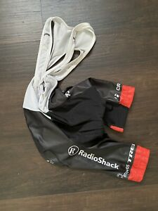 Trek Andy Schleck Bib Shorts Nissan Tour de France Black Red Chamois