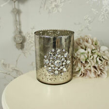 Floreros decorativos color principal plata para el hogar