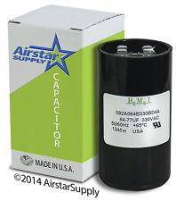 64 - 77 uF x 330 VAC • BMI # 092A064B330BD4A Motor Start Capacitor • USA