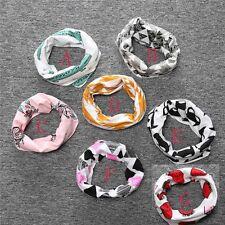 Children Toddler Spring, Fall,Winter Cotton Neck Snood Shawl Ring Scarfs Gift