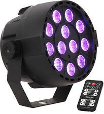 Projecteur a Led 12 x 3W Par Mini Rgb 3 Dmx Ibiza telecommande