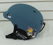 New 2017 Smith Gage Ski Snowboard Helmet Medium Matte Corsair Ripped