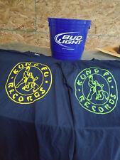KUNG FU RECORDS LOGO T-Shirt Green logo Limited XL + Free Bonus CD Sampler