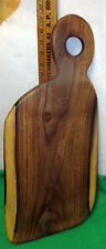 """LARGE Mesquite Cutting/BREAD BOARD w/ TURQUOISE 3/4"""" THICK Cheese /Bread Tray"""