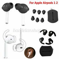5 Paare Anti-Slip Sport Haken Ohrstöpsel Silikon EarHooks für Apple Airpod 1