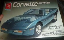 AMT 6266 1989 CHEVY CORVETTE CONVERTIBLE 1:25 FS Model Car Mountain KIT