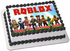 ROBLOX   ICING  CAKE TOPPER PARTY IMAGE FROSTING SHEET