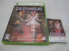 W/Tracking Number w/Limited Card USED XBOX 360 Death Smiles Deathsmiles Japanese