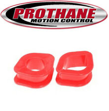 Prothane 14-704 Steering Rack Bushing Kit for 1989-1994 Nissan 240SX Red Poly