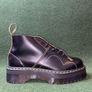 NEW Dr. Martens Church Quad Platform Boots SIZE 11 Double Sole Black EUR 45