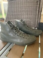 CONVERSE ALL STAR HIGH TOP CT Hi 144743C OLIVE GREEN - RUBBER US 9.5