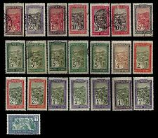 Malagasy Republic. Collection of issues of 1908-28. Mix (MLH, Used). (BI#11)
