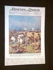 Anno 1939 WW2 Kutno-Varsavia Tedeschi vs Polacchi Copertine Domenica Corriere