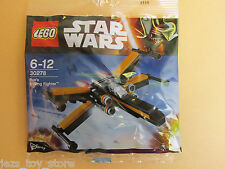 NEW lego star wars POE DAMERON X WING FIGHTER polybag force awakens 30278