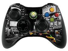 NEW York XBOX 360 REMOTE CONTROLLER / Gamepad Pelle / coperchio / VINILE xbr29