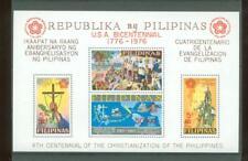 Y 527 1976 Pilipinas 4th centennial Christinitation (MNH) minisheet