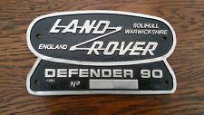 LAND Rover Serie ha Warwickshire Defender 90 DOPPIO STEMMA