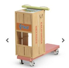 """American Girl KIT'S HOMEMADE SCOOTER Crate for 18"""" Doll Historical Kit NEW*"""
