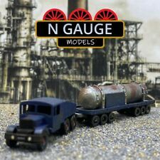 More details for n scale gauge heavy haulage truck 1:148 tractor trailer lorry 1:160