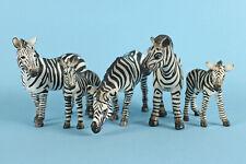 More details for schleich  zebra group: zebra 14148, female14392, 14609, foal 14393, colt 14146