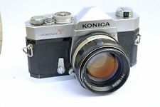 Appareil photo KONICA AutoReFlex T + objectif Hexanon 57mm 1.4