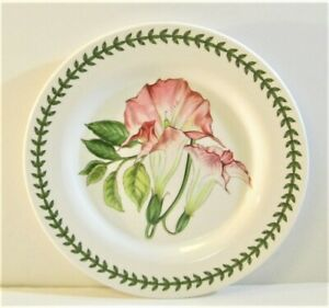 Set / 4 Portmeirion Botanic Garden Melamine Salad / Dessert Plates - NEW