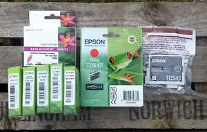 Epson Ink Cartridge Frog + compatible cartridges R1800/R800 Bundle