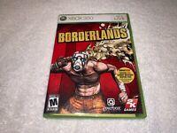 Borderlands (Microsoft Xbox 360, 2009) GameStop Exclusive Complete Excellent!