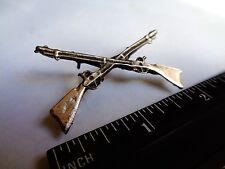 Cross Winchester Rifle Two Gun Pin Classic American Biker Rat Rod Trucker Hat