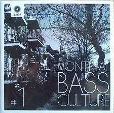 Various Artists - Montreal Bass Culture Volume 1 Promo Album (CD) Jazz