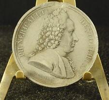 Médaille grès XIX Philippe Néricault Destouches Comédien et auteur 41mm Medal