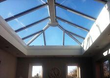 3m x 1.5m Orangery Skylight Roof Lantern / uPVC Clad Aluminium Glass Roof
