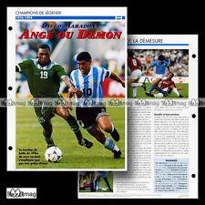 #061.05 - DIEGO MARADONA (ARGENTINOS JUNIORS, SSC NAPOLI...) Fiche Football