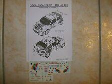 MAXI MEGANE KIT CAR RALLYE LYON CHARBONNIERES 1996 MICHEL RATS DECALS