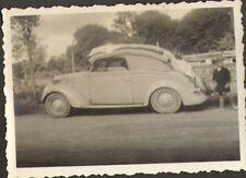 PHOTO VEHICULE ANCIEN AUTOMOBILE NON IDENTIFIE