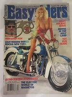 Easyriders Magazine December 1992 New York Rodeo Dyno-testing staff bikes