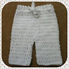 Crochet Baby Pants - ANY COLOR 0-3months BRAND NEW CUTE Boys and Girls