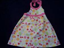 NWT Girl's Gymboree Sweet Berry fruit strawberry sleeveless dress ~ 0-3 months