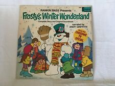 Frosty's Winter Wonderland 1976 Vinyl Record Disney Narrated by Andy Griffith