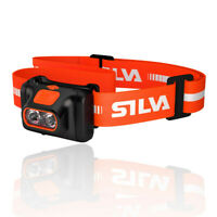 Silva Mens SCOUT HEADLAMP Orange Sports Outdoors Running Water Resistant