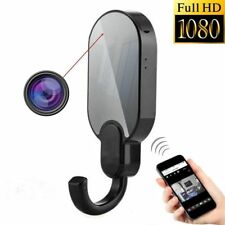 Spy Camera Clothes Hook WiFi Hidden Wireless Night Vision Security Cam HD 1080P