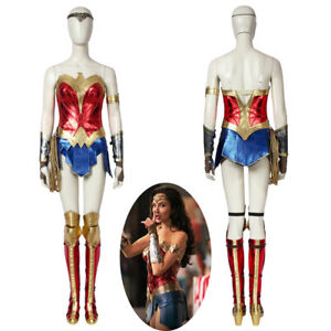 Wonder Woman 1984 WW84 Costume Cosplay Suit Diana Prince Ver 1 Women's Outfit
