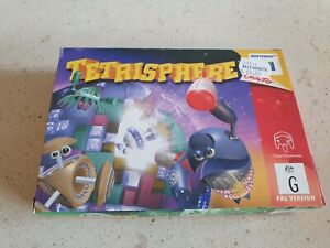 Tetrisphere No Game, Box and Manual Only