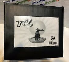 ZEPPELIN CHROME DESK STAND LAMP. MISSING THE GLASS DIFFUSER  BRAND NEW!