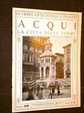 Acqui, la città delle terme - Le Cento Città d'Italia illustrate