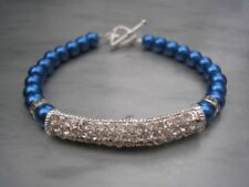 Toggle Beauty Glass Costume Bracelets