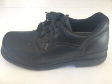MENS RED WING READIFLEX OXFORD SHOE STYLE 6618 BLACK LEATHER STEEL TOESZ 9