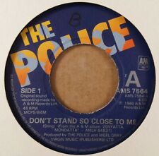 """The Police : Don't Stand So Close To Me : Vintage 7"""" Single from 1980"""