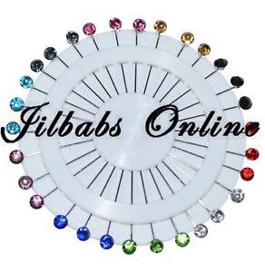 CRYSTAL STONE HIJAB PIN multi colours Hijab/abaya/jilbab